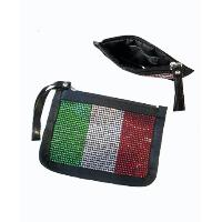 Coins Pouch with Italy National Flag Pattern