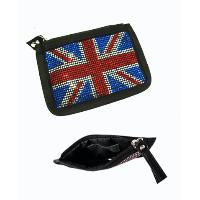 Coins Pouch with UK National Flag Pattern