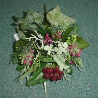 13 inches MIXED BERRIES BUSH X 7