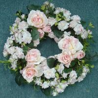 15 inches ROSE WREATH
