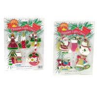2 Asst Christmas Light Cover, D229