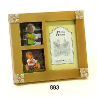 Collage Photo Frame with 3 openings