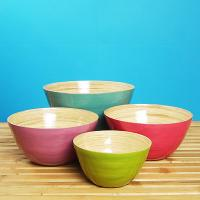 LACQUER BAMBOO ITEMS - BOWL