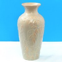 Sell VASE WITH LEAVES PATTERN