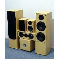 5ch Speaker System with Active Subwoofer