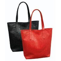 Croc Stamped PVC Tote Bag