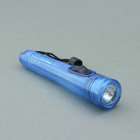 2 'AA' Cells Plastic Flashlight with String