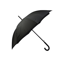 Premium Black Walking Umbrella