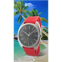SUMMER Precise Three Hands Round Dial Unisex Analog Watch