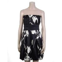 Ladies Polyester Print Woven Dress