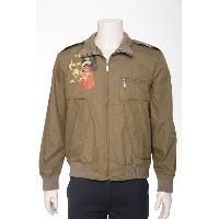 Men's Polyester Woven Jacket With Printing