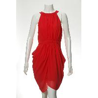 Ladies' 100% Polyester Woven Dress