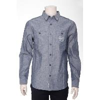 Men's Cotton Chambray Woven Shirt