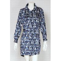 Ladies Polyester Print Dress