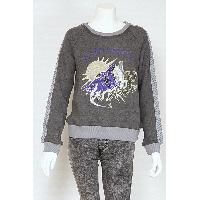 Ladies Cotton Embroidery Sweater, 201312-15