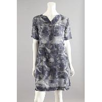 Ladies Silk Print Dress