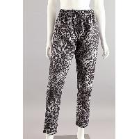Ladies Polyester Print Trousers
