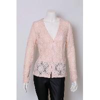Ladies Cotton Nylon Spandex Knitted Cardigans