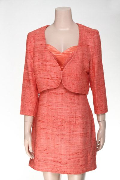 Ladies' Silk Jacket + Dress Woven Suit