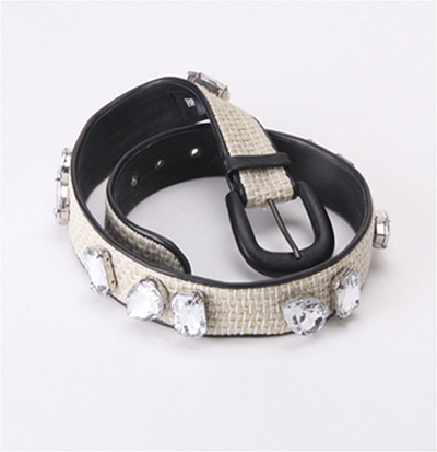 Belt With Crystal