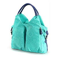 Waterproof Large Capacity Diaper Tote Bag with Shoulder Strap