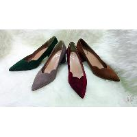 Elegant Ladies Pointed Toe Mid Heel Pump Shoes, B502-22