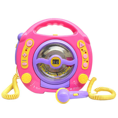Sell Sing-A-Long CD PLAYER WITH DUAL MICROPHONES