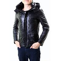 Leather Jacket, MC-005