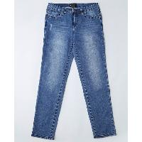 Ladies' Woven Jeans, 151-NY17-BL08-5002
