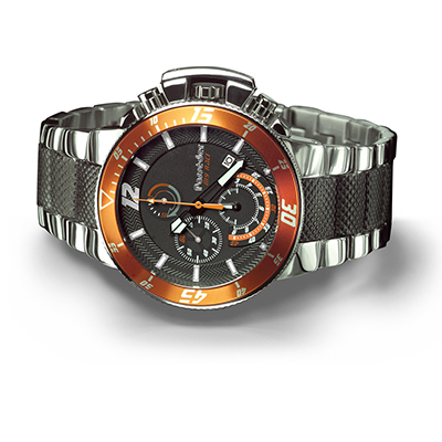 POSSEDER All Steel Chronograph Wrist Watch 080007F