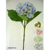25 inches Single hydrangea spray w/lvs.(dia 15cm) (coating stem)