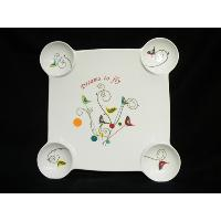 Snack Plate with Gift Box
