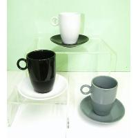 Stoneware- Cup and saucer