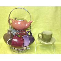 Set of 6 Tea Pot Set