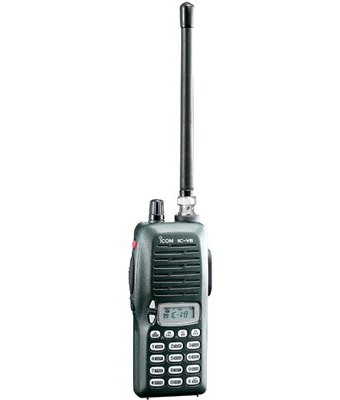 Icom, Ic-v8, Two-way Radios, Walkie Talkie, Ht