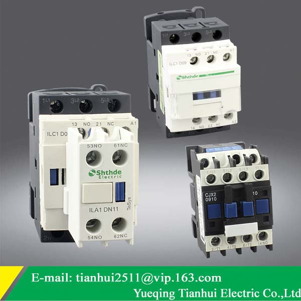 Schneider type Lc1-d09 220v Ac Contactor,LC1-D - Yueqing