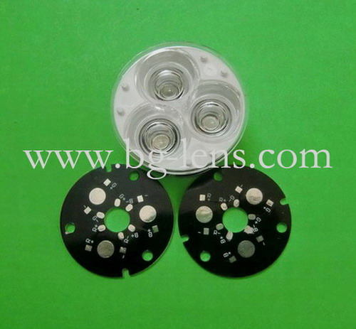3x3w Module Lens With 46mm Mcpcb