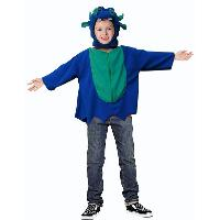 Dinosaur Poncho with Hat