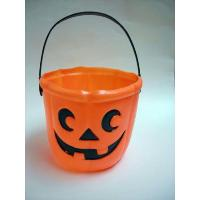 Plastic Pumpkin Basket for Halloween