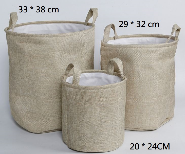 Canvas Bag / baskets for Lundry