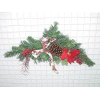 32 inches BERRIES/CONE/PINE WREATH