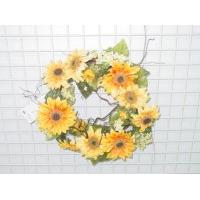 Sell 16 inches SUNFLOWER WREATH