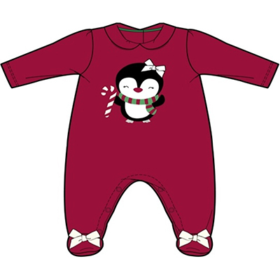 Christmas Baby Girl Set