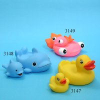 3147 - Duck Set 3148 - Dolphin Set 3149 - Goldfish Set