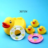 4 Pcs. Duck with Buoy