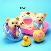 4 Pcs. Toys with Boat