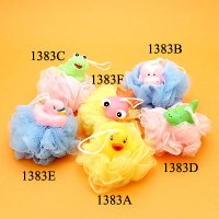 Scrubby with Animal, Duck, Hippo, Frog, Crocodile, Swan & Goldfish, 7 Styles