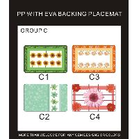 PP WITH EVA BACKING PLACEMAT