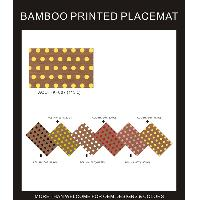 BAMBOO PRINTED PLACEMAT