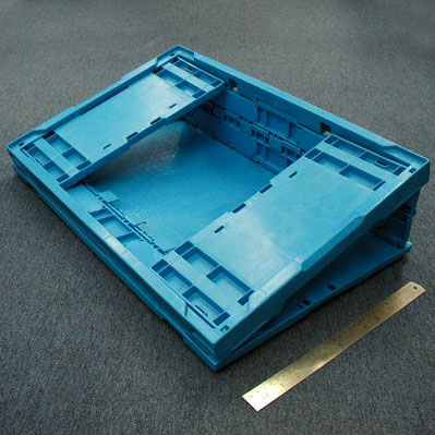 Collapsible Food Crate Mold